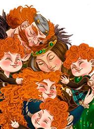 Раскраски из мультфильма «Храбрая сердцем»