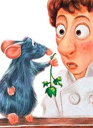 Раскраски из мультфильма «Рататуй»