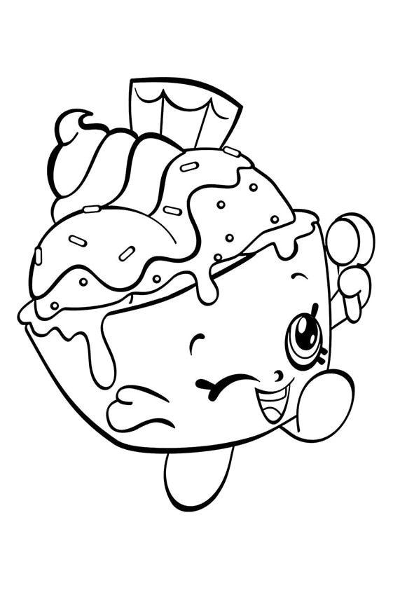 Раскраска Шопкинс Шикарная груша | Шопкинс | Чудо ребенок