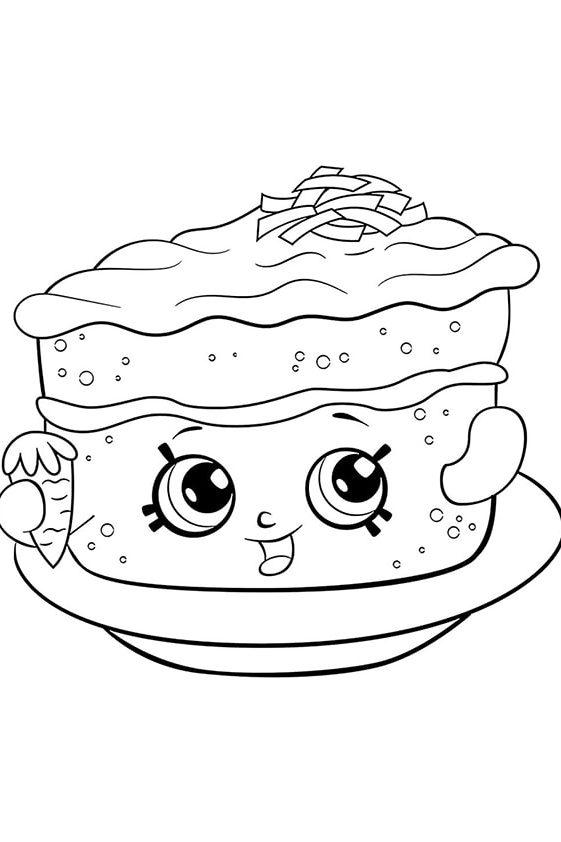 Раскраска Шопкинс Молоко Мелиссы | Шопкинс | Чудо ребенок