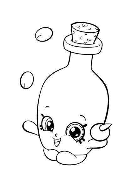 Раскраска Шопкинс Оливковое масло | Шопкинс | Чудо ребенок