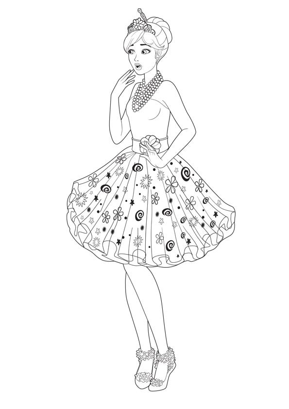 Раскраска Принцесса Алекса | Чудо ребенок