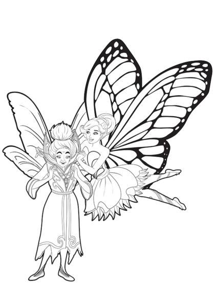Раскраска Гвиллион и столь желанный ей кристаллит скачать или распечатать