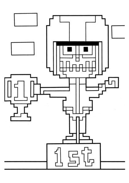 Раскраска Игра «Turbo time» скачать или распечатать
