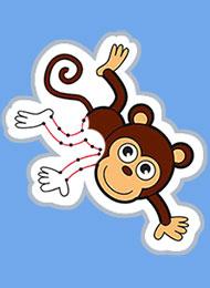 Раскраски для малышей «По точкам» скачать или распечатать