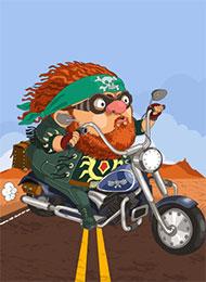 Раскраски для детей Мотоциклы скачать или распечатать