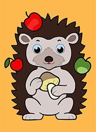 Раскраски для малышей «Животный мир» скачать или распечатать