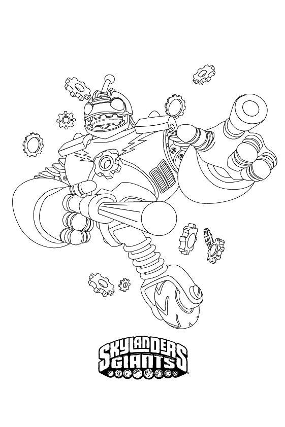 Раскраска Скайлендер–дракон Дробот | Чудо ребенок